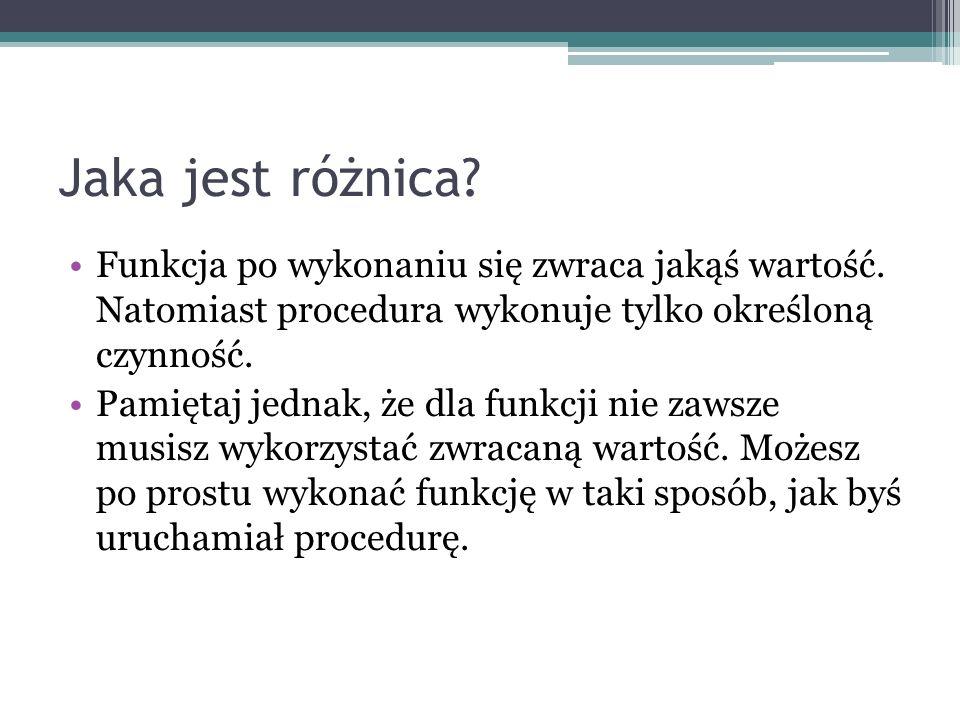 Temat Funkcje i procedury obsługi ekranu.