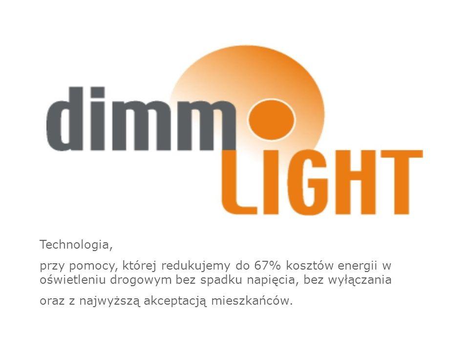 Technologia, przy pomocy, której redukujemy do 67% kosztów energii w oświetleniu drogowym bez spadku napięcia, bez wyłączania oraz z najwyższą akceptacją mieszkańców.
