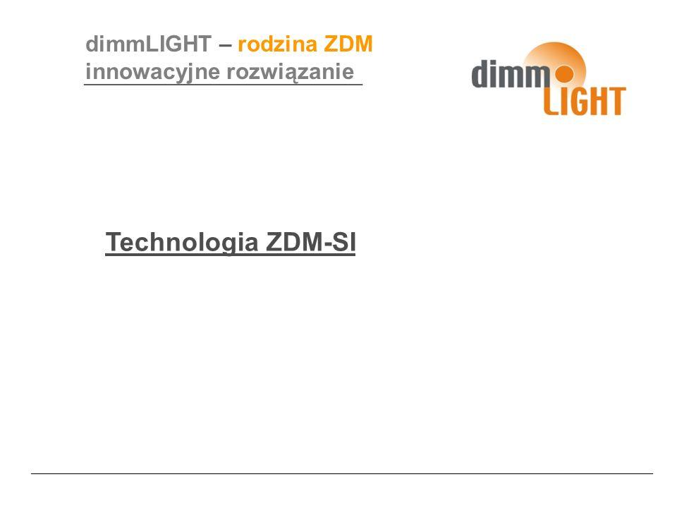 Technologia ZDM-SI dimmLIGHT – rodzina ZDM innowacyjne rozwiązanie ______________________________