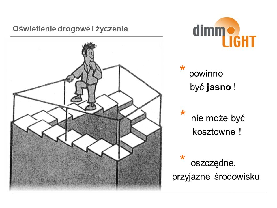 Warianty z życia wzięte Kompletne wyłączenie Częściowe wyłączanie 1/2; 1/3; 2/3 Używanie nowoczesnych źródeł światła ( np.