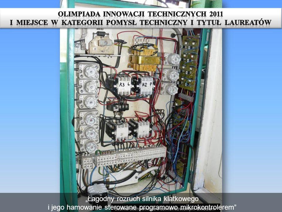 Praca Łagodny rozruch silnika klatkowego i jego hamowanie sterowane programowo mikrokontrolerem