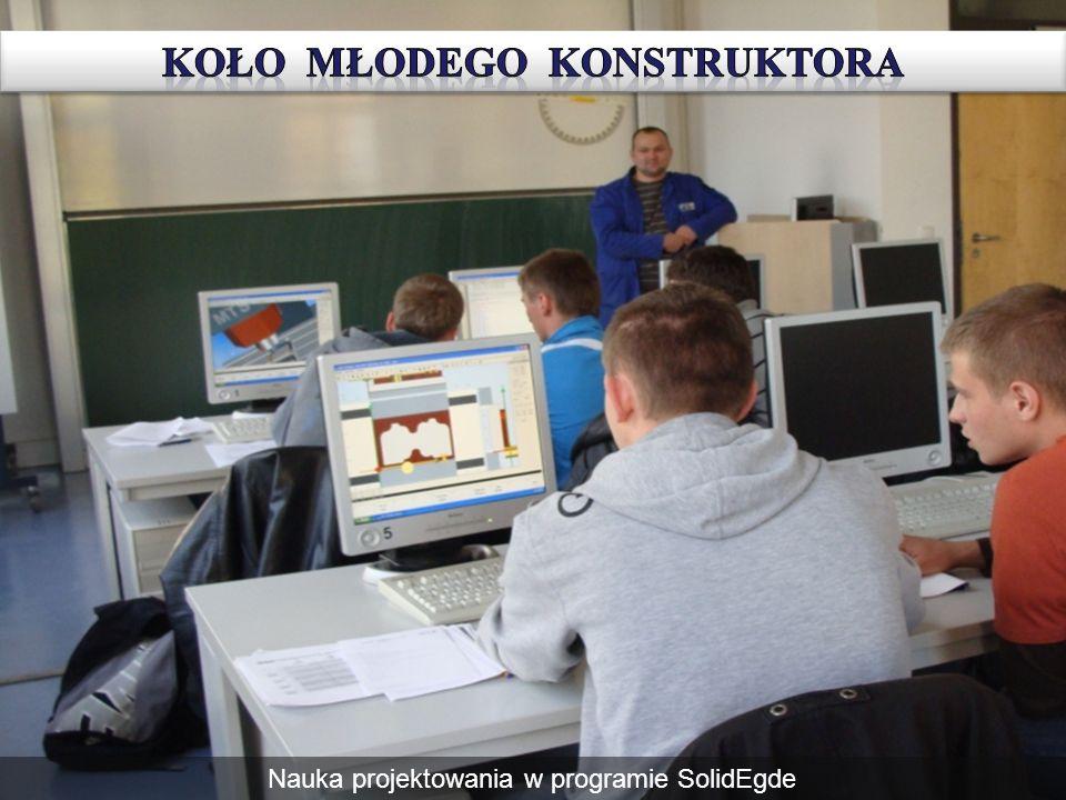 Nauka projektowania w programie SolidEgde
