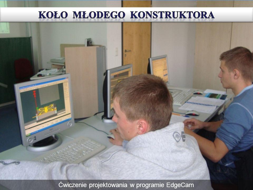 Ćwiczenie projektowania w programie EdgeCam