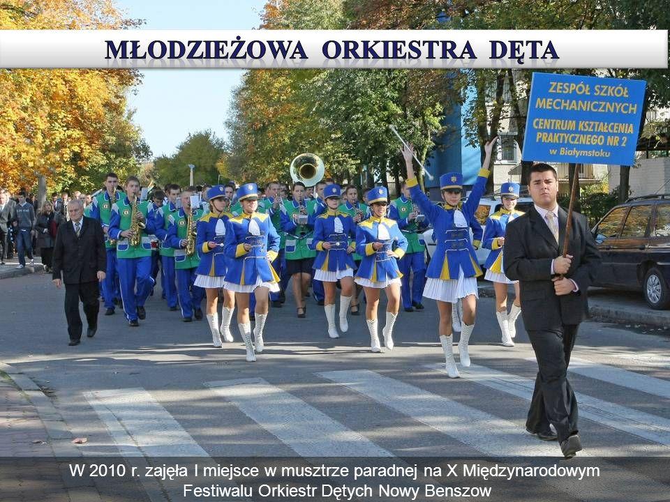 W 2010 r. zajęła I miejsce w musztrze paradnej na X Międzynarodowym Festiwalu Orkiestr Dętych Nowy Benszow
