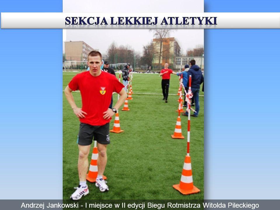 Andrzej Jankowski - I miejsce w II edycji Biegu Rotmistrza Witolda Pileckiego