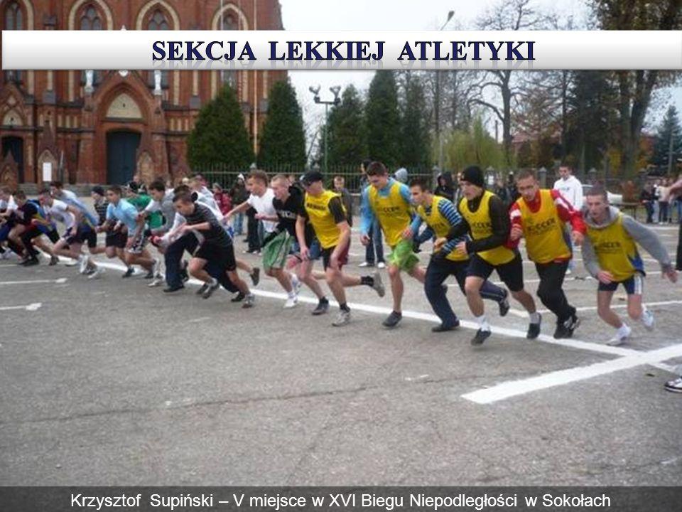 Krzysztof Supiński – V miejsce w XVI Biegu Niepodległości w Sokołach