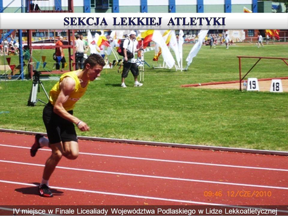 IV miejsce w Finale Licealiady Województwa Podlaskiego w Lidze Lekkoatletycznej