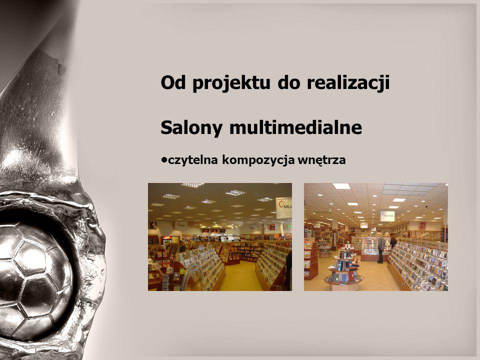 Od projektu do realizacji Salony multimedialne czytelna kompozycja wnętrza