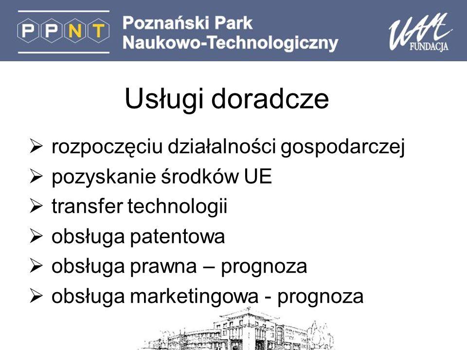Korzyści bycia w PPNT promocja MSP – element strategii promocji PPNT PPNT znana marka w Wielkopolsce organizator około 60 konferencji rocznie uczestniczymy w projektach krajowych i międzynarodowych opracowaliśmy Regionalną Strategię Innowacyjną dla Wielkopolski