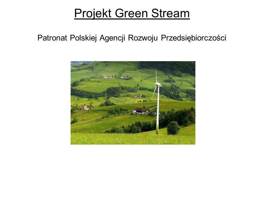 Projekt Green Stream Patronat Polskiej Agencji Rozwoju Przedsiębiorczości