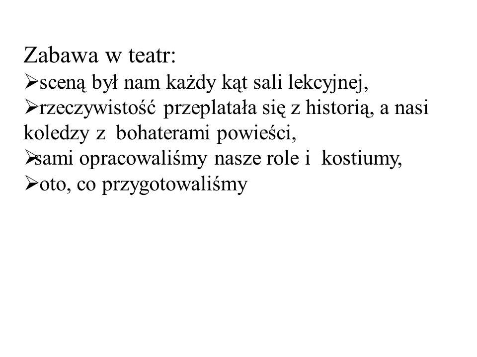Zbyszko ślubuje Danusi (Paula i Agata)