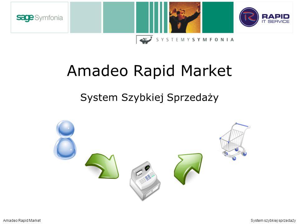 Amadeo Rapid Market System Szybkiej Sprzedaży Amadeo Rapid Market System szybkiej sprzedaży