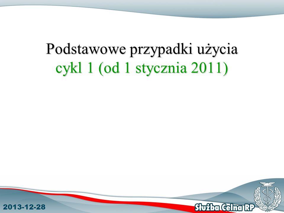 2013-12-28 Podstawowe przypadki użycia cykl 1 (od 1 stycznia 2011)