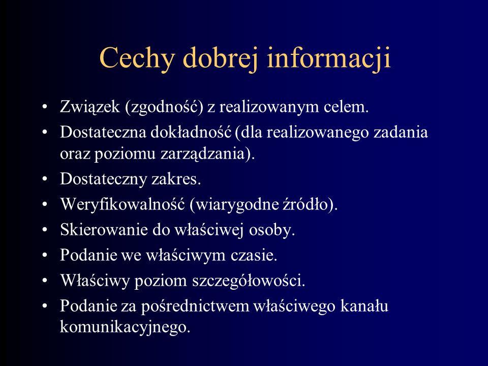 Klasyfikacja informacji
