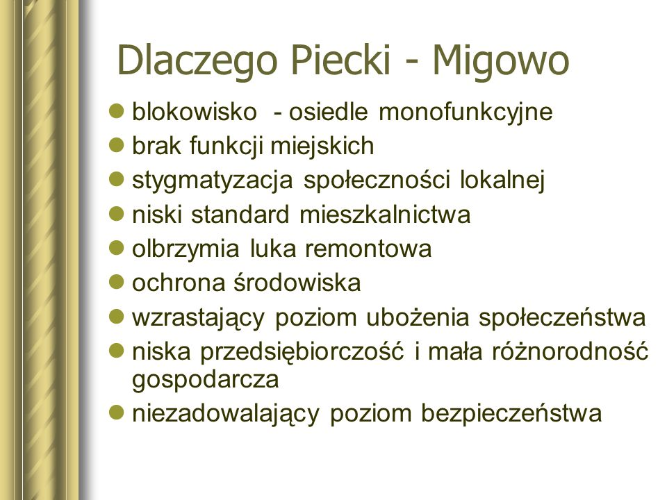 cd. ul. Piecewskiej – droga gminna