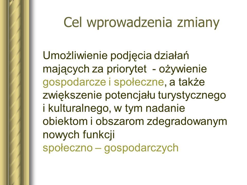 Studium Uwarunkowań i Kierunków Zagospodarowania Przestrzennego Gdańsk –Zrównoważony rozwój struktur przestrzennych miasta poprzez odchodzenie od układów monofunkcyjnych – wzbogacanie dzielnic sypialnianych –Cele gospodarcze min.