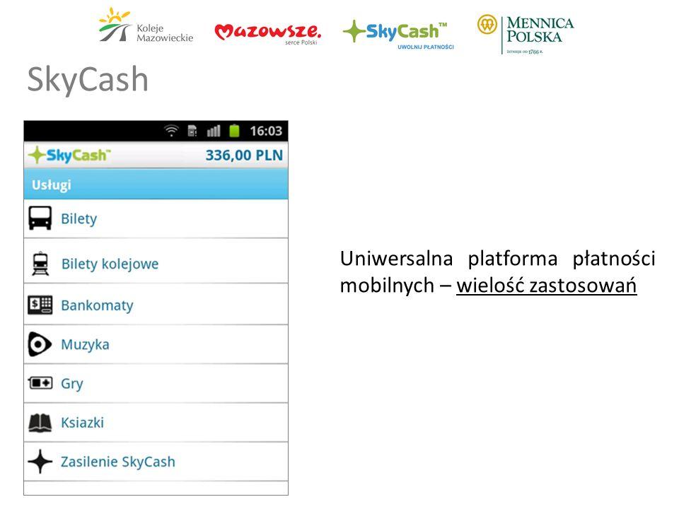 SkyCash Uniwersalna platforma płatności mobilnych – wielość zastosowań