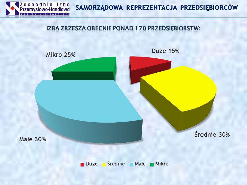 sekcje branżowe: (środków europejskich; branży metalurgicznej; logistyki i transportu; budownictwa; ochrony środowiska; doradztwa prawnego; podatkowo – finansowa; doradztwa personalnego …) Polubowny Sąd Gospodarczy w 2007 również Polsko – Niemiecki Polubowny Sąd Gospodarczy Program Grupowych Ubezpieczeń Pracowniczych BENEFIT dla przedsiębiorstw członków Izby.