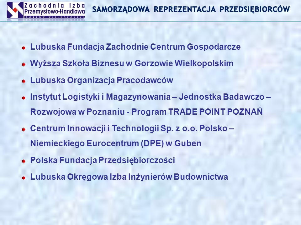 Dziękuję za uwagę Stanisław Owczarek – Dyrektor ZIPH PRIORYTET II – Wzmocnienie Rozwoju Zasobów Ludzkich w Regionach DZIAŁANIE 2.1 – Rozwój umiejętności powiązany z potrzebami regionalnego rynku pracy i możliwości kształcenia ustawicznego w regionie Projekt jest współfinansowany przez Unię Europejską z Europejskiego Funduszu Społecznego oraz budżet państwa w ramach Zintegrowanego Programu Operacyjnego Rozwoju Regionalnego