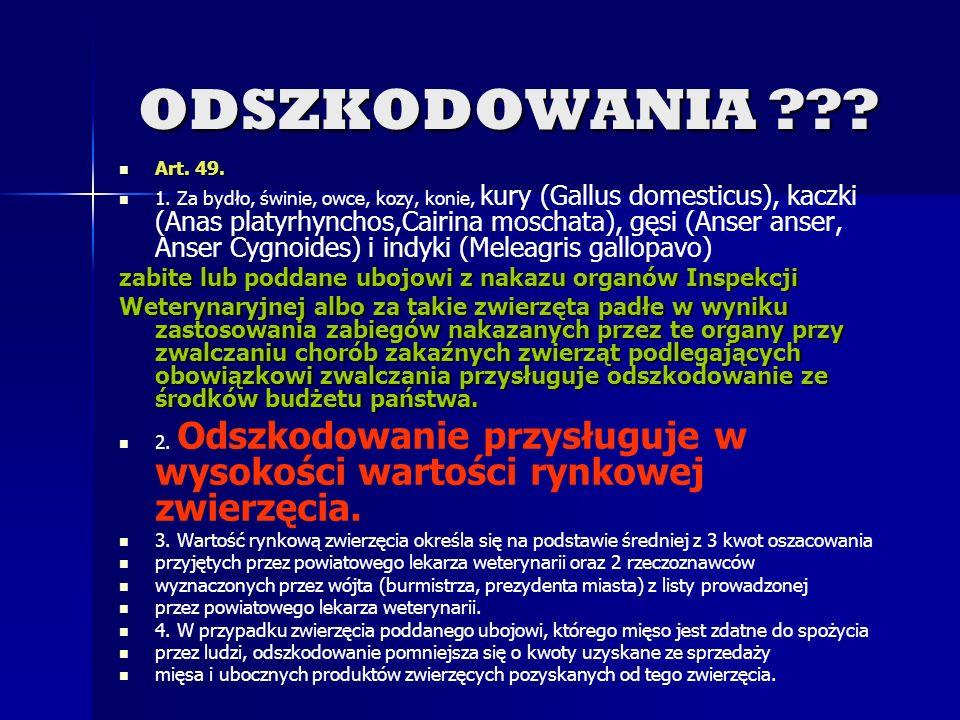 Wykaz chorób zakaźnych zwierząt podlegających obowiązkowi rejestracji salmonelozy drobiu (S. Gallinarum, S. Pullorum, S. Enteritidis, S. Typhimurium,