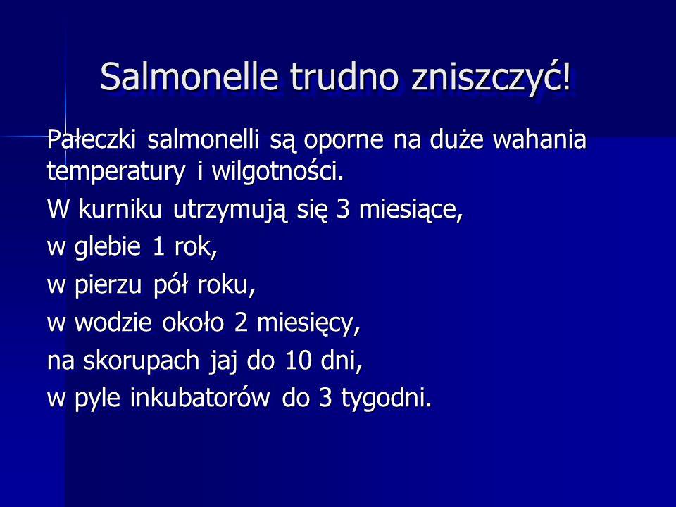 Salmonellozy to choroby zakaźne wywoływane przez pałeczki z rodzaju Salmonella. Salmonellozy to choroby zakaźne wywoływane przez pałeczki z rodzaju Sa