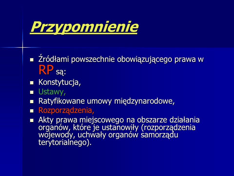 Źródła prawa EU Traktat Rozporządzenie (zarządzenie)- obowiązuje w Polsce!!! Dyrektywa – w Polsce musi być osiągnięty cel – metody wybieramy sami, nie