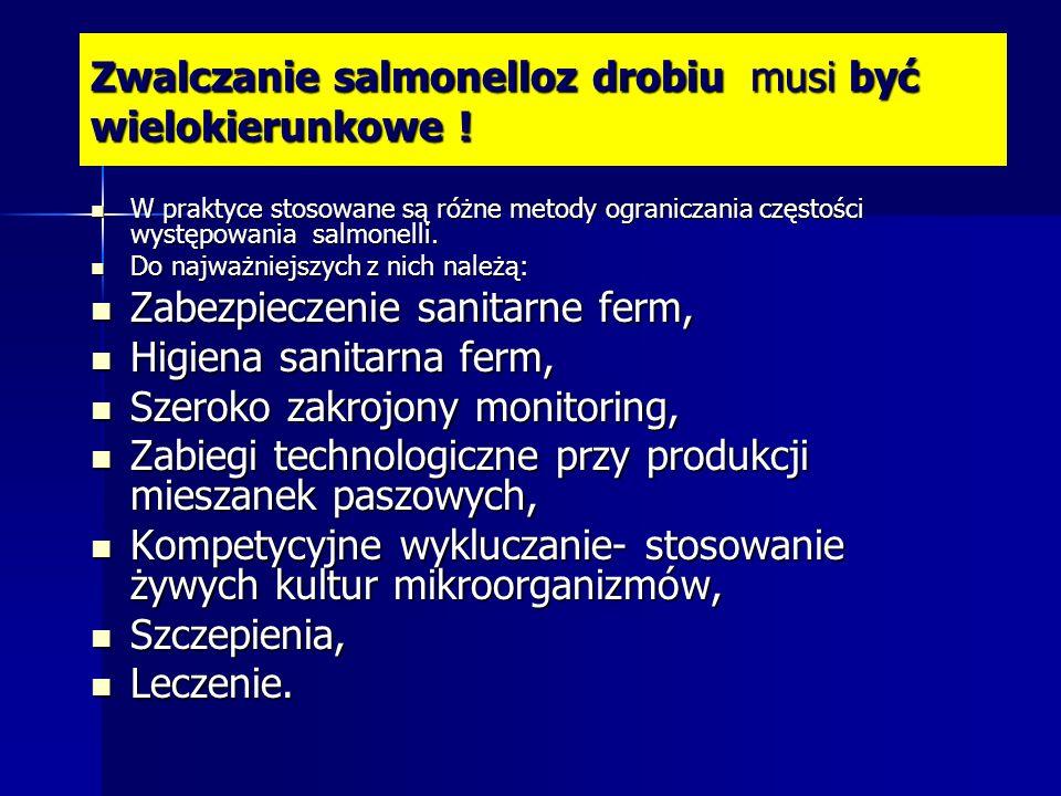 Jak się ustrzec przed salmonellami ? sposoby są znane, ale...