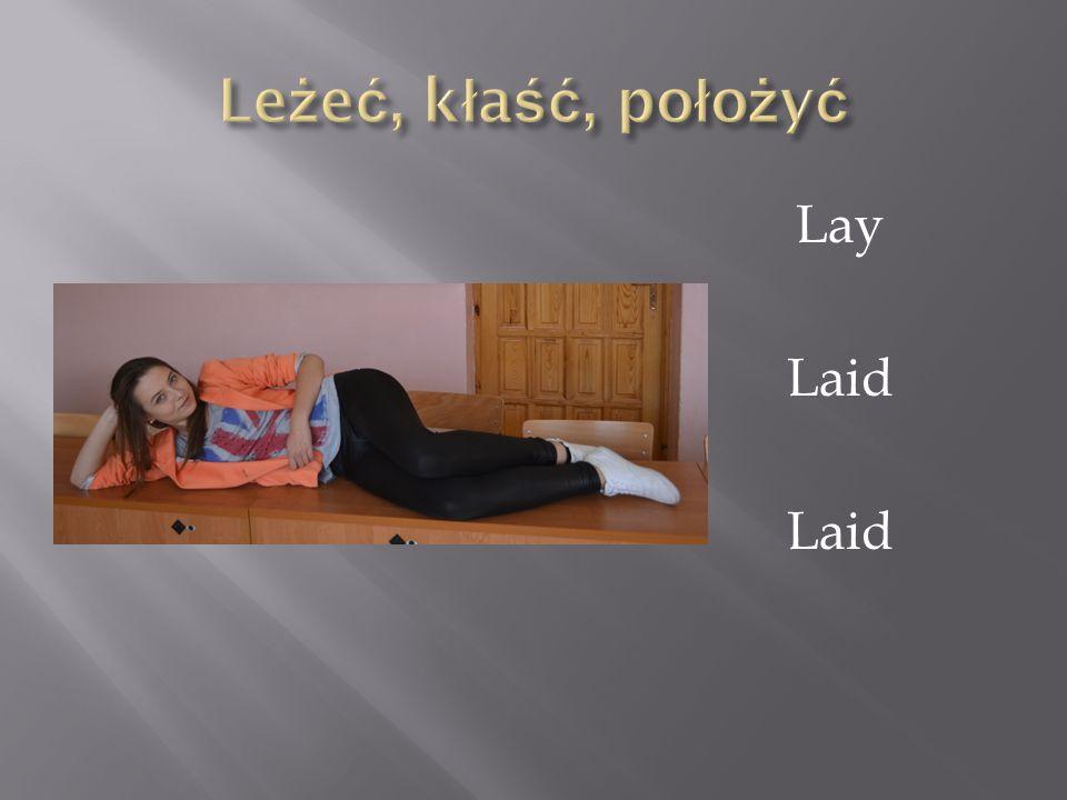 Lay Laid