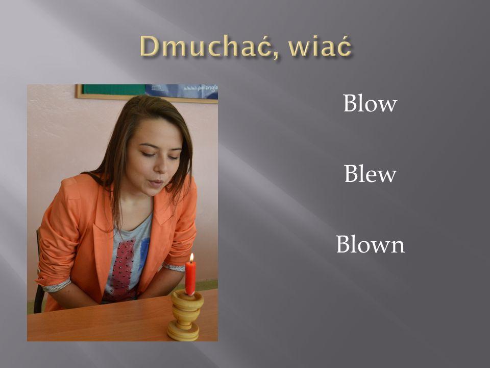 Blow Blew Blown