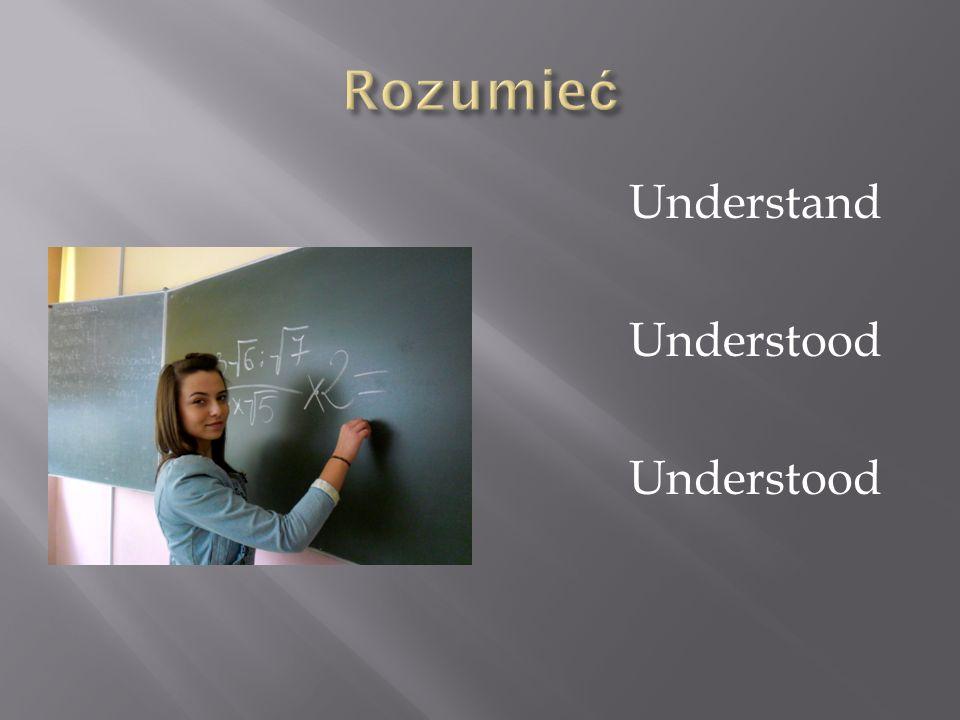 Understand Understood