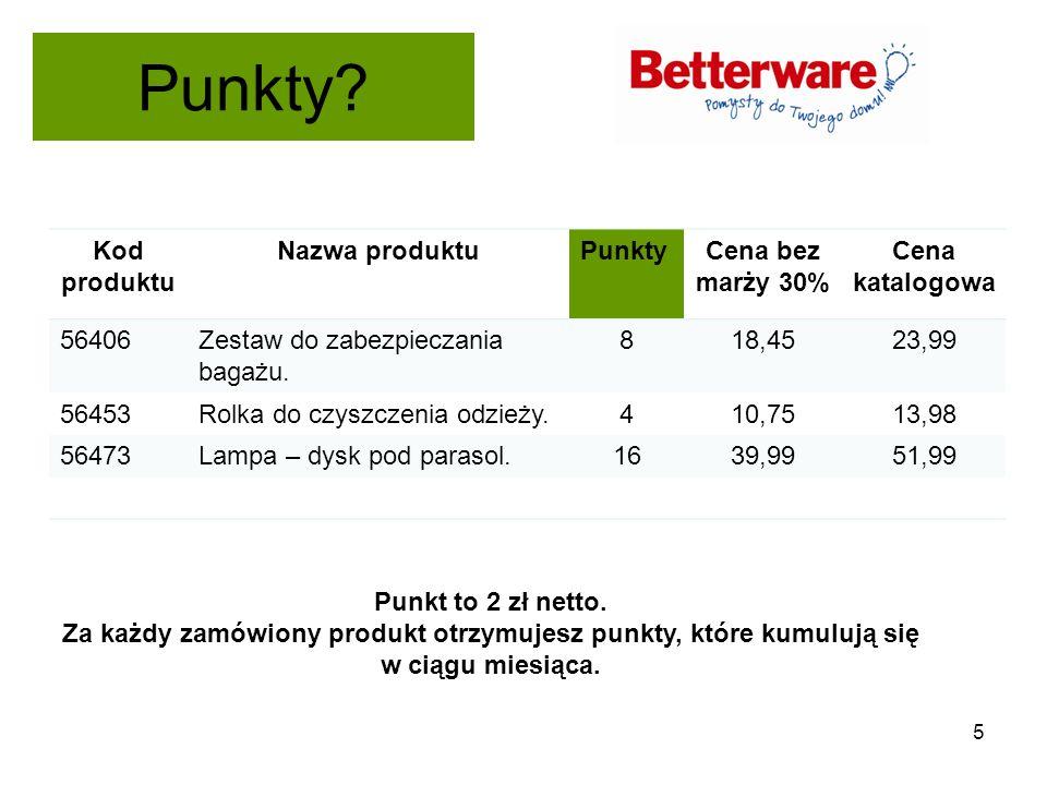 Punkty? 5 Kod produktu Nazwa produktuPunktyCena bez marży 30% Cena katalogowa 56406Zestaw do zabezpieczania bagażu. 818,4523,99 56453Rolka do czyszcze