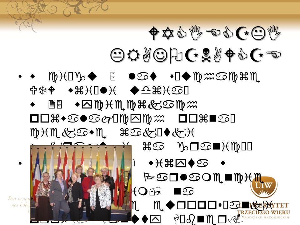 WYCIECZKI KRAJOZNAWCZE w ciągu 5 lat słuchacze UTW wzięli udział w 25 wycieczkach pozwalających poznać ciekawe zakątki w kraju i za granicął w 2010 r.