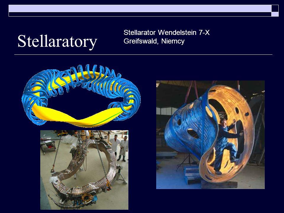 Stellaratory Stellarator Wendelstein 7-X Greifswald, Niemcy