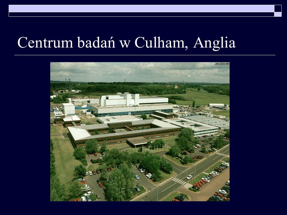 Centrum badań w Culham, Anglia