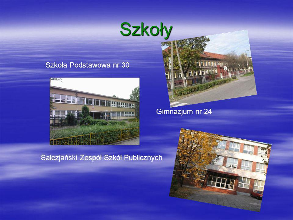 Szkoły Szkoła Podstawowa nr 30 Gimnazjum nr 24 Salezjański Zespół Szkół Publicznych