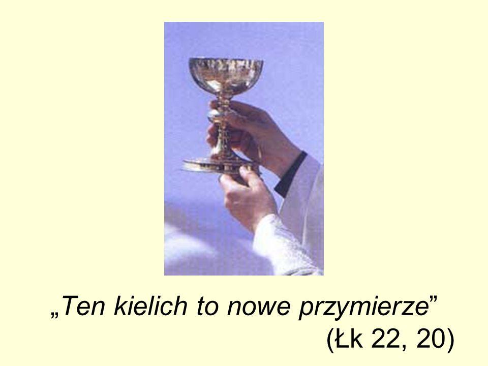 Ten kielich to nowe przymierze (Łk 22, 20)