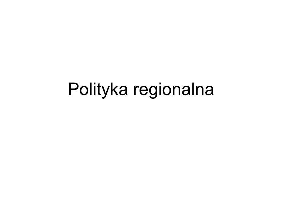 Polityka regionalna UE jest finansowana z następujących źródeł Fundusze Strukturalne, Fundusz Spójności – Kohezji, Europejskiego Banku Inwestycyjnego