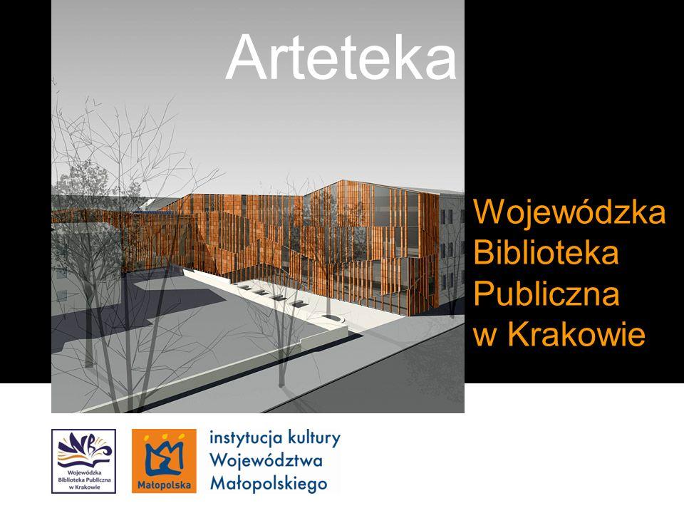 Kliknij, aby edytować styl wzorca podtytułu Wojewódzka Biblioteka Publiczna w Krakowie Arteteka