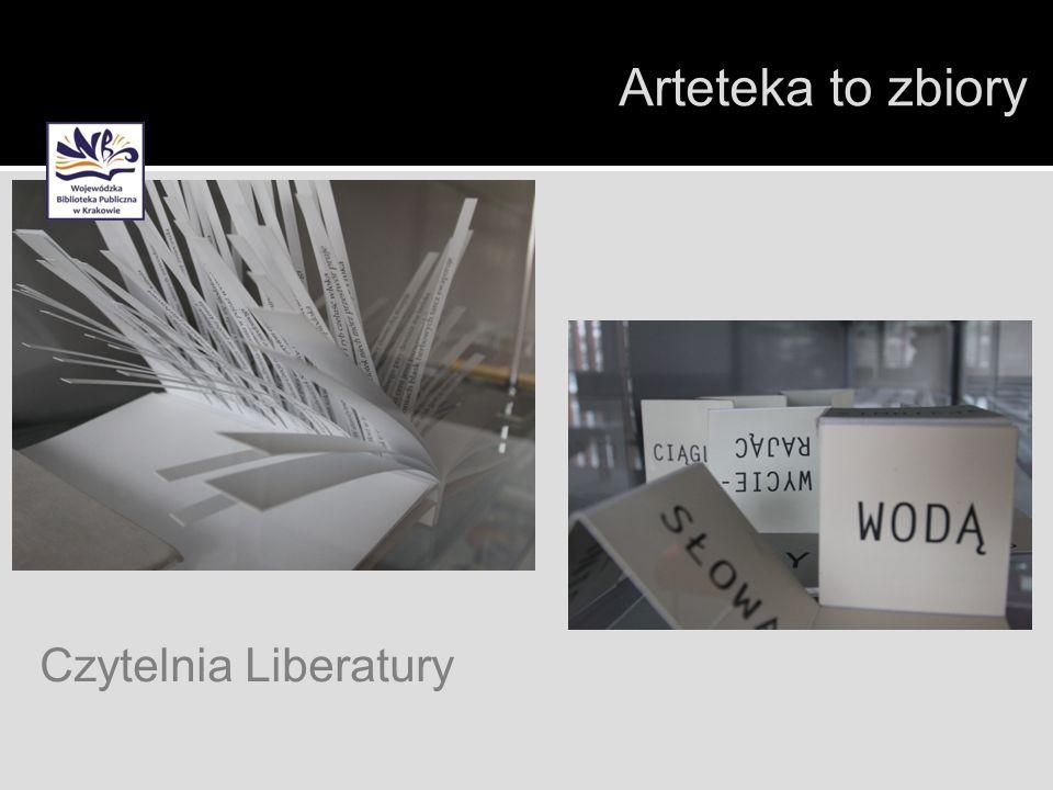 Czytelnia Liberatury Arteteka to zbiory
