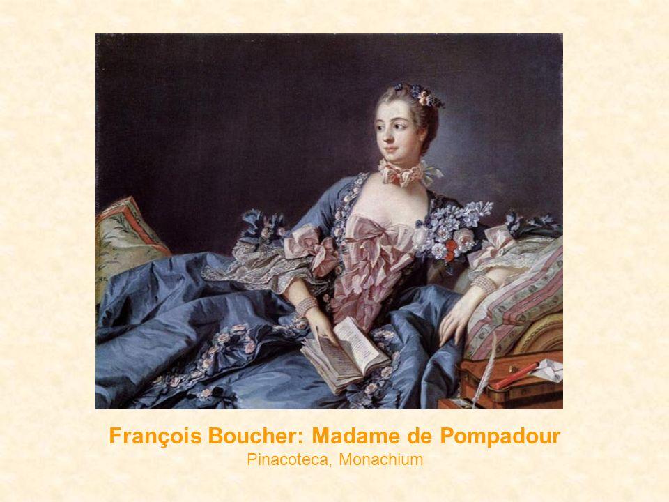 François Boucher: Madame de Pompadour Pinacoteca, Monachium