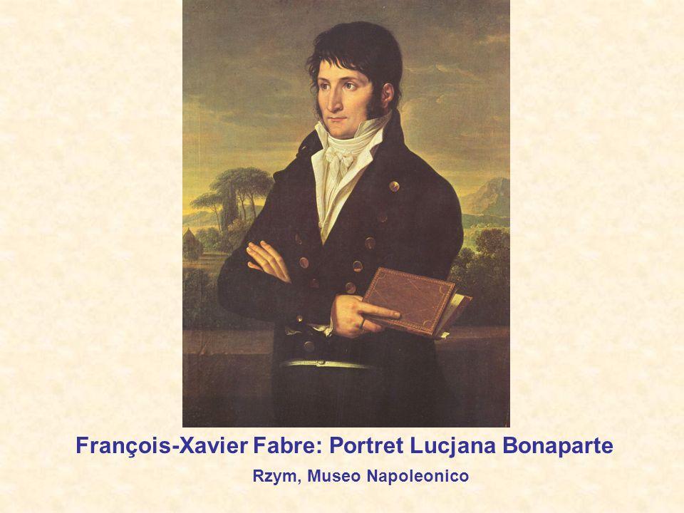 François-Xavier Fabre: Portret Lucjana Bonaparte Rzym, Museo Napoleonico