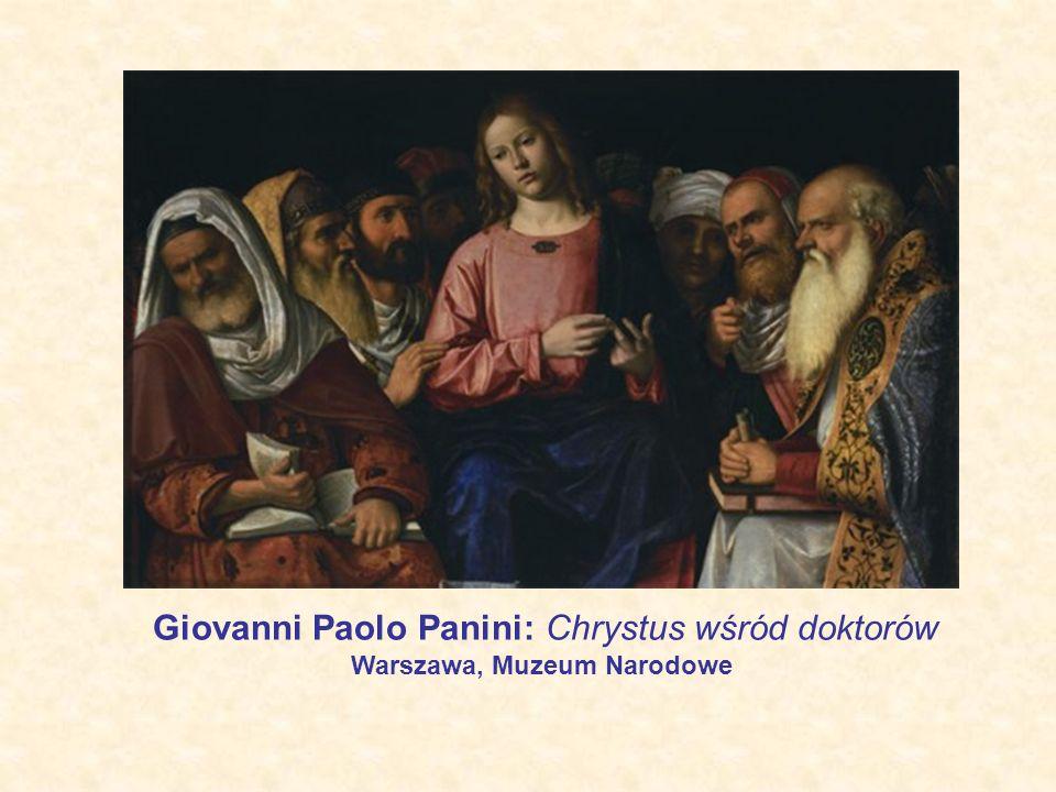Giovanni Paolo Panini: Chrystus wśród doktorów Warszawa, Muzeum Narodowe