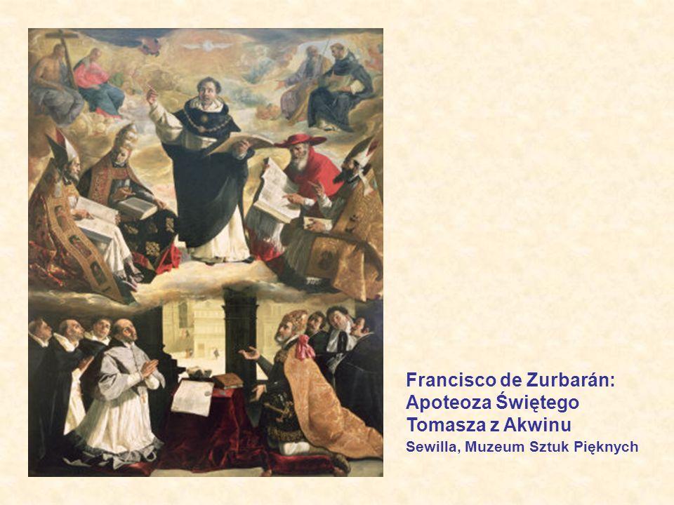 Francisco de Zurbarán: Apoteoza Świętego Tomasza z Akwinu Sewilla, Muzeum Sztuk Pięknych