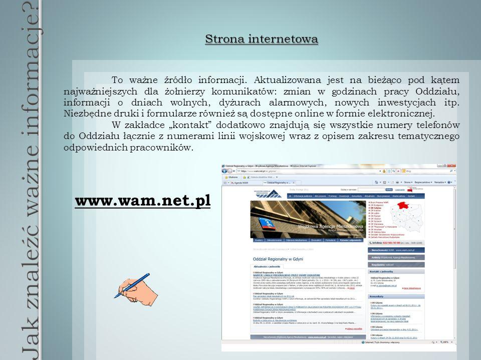 Strona internetowa To ważne źródło informacji.