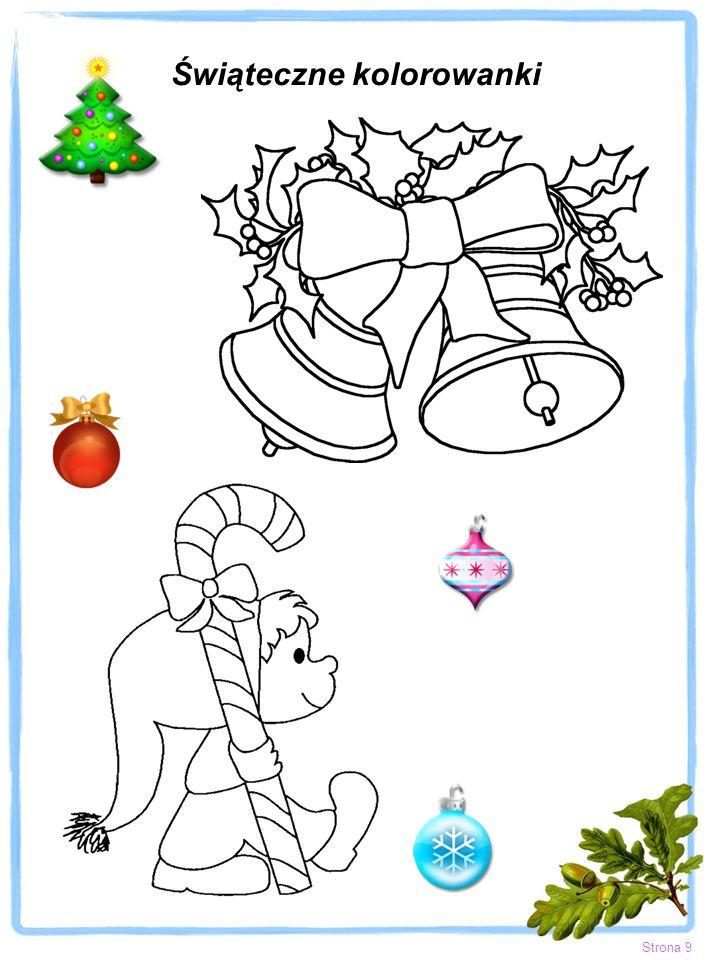 Świąteczne kolorowanki Strona 9