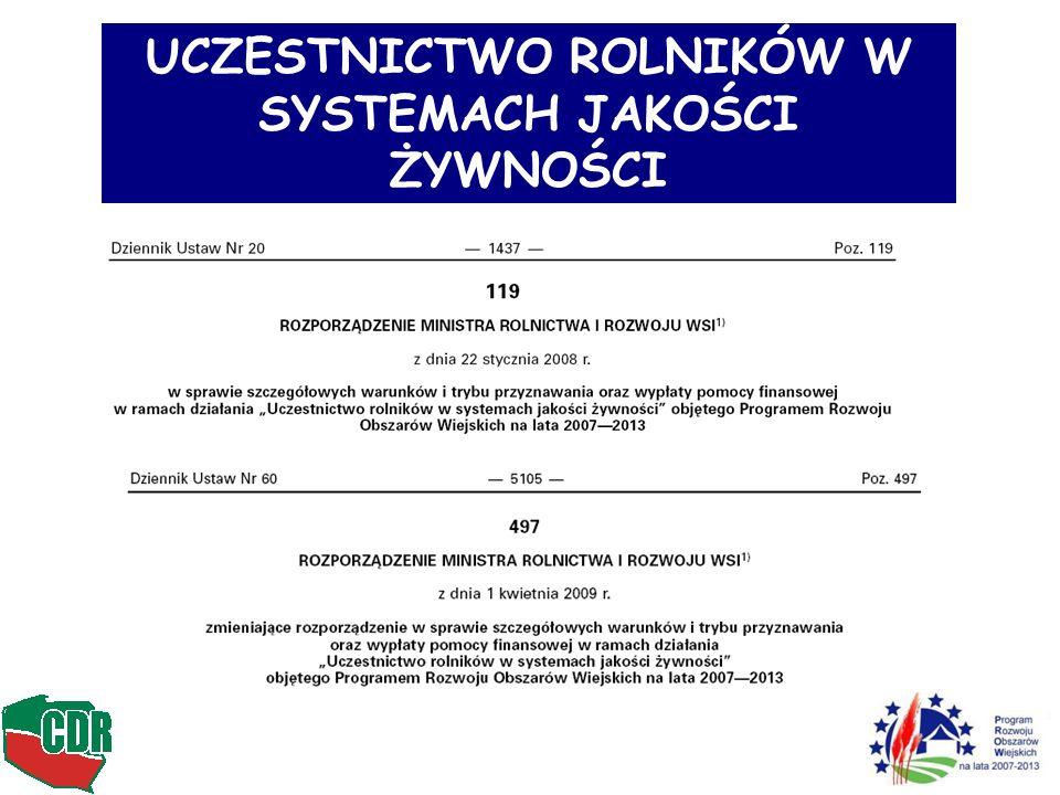 2.Inne krajowe systemy jakości – wprowadzane w kolejnych latach......