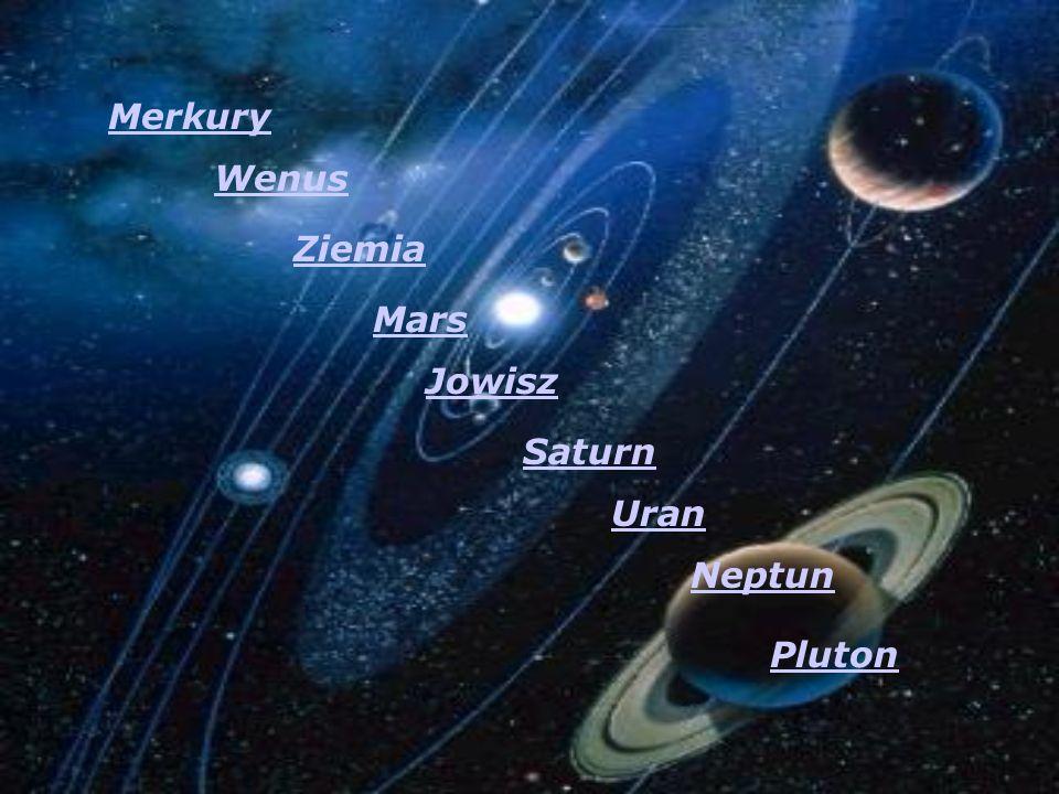 Wenus Ziemia Mars Jowisz Saturn Uran Neptun Pluton Merkury