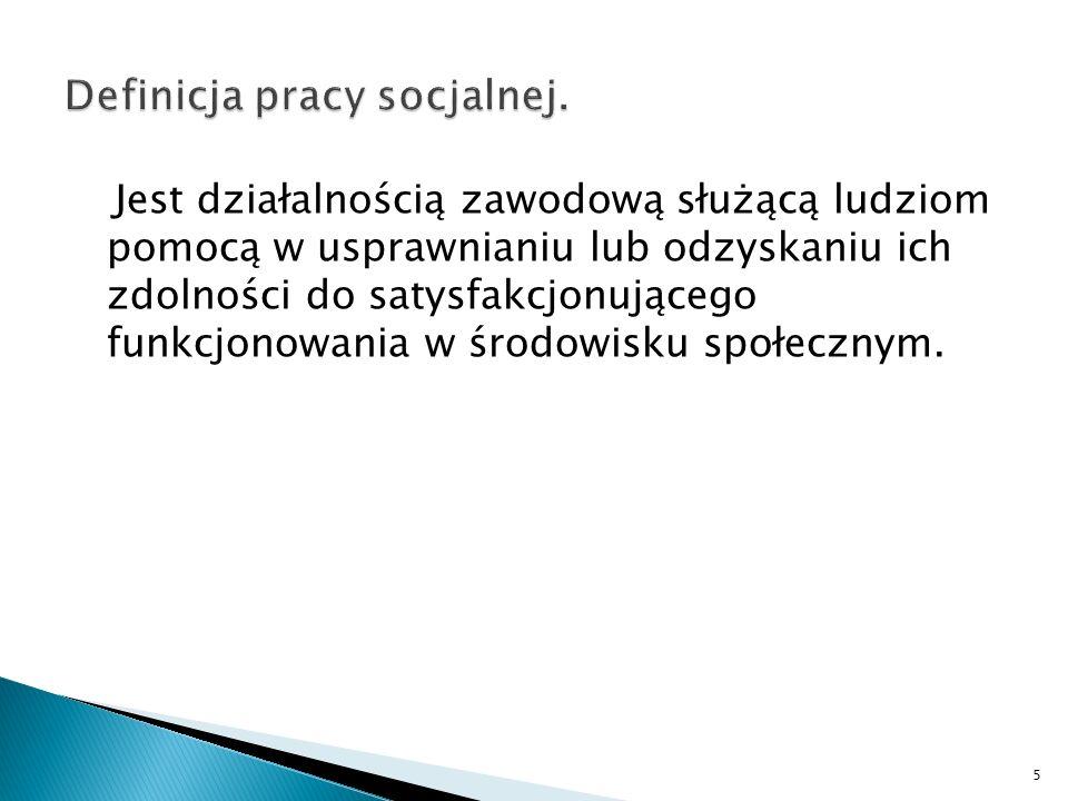 Dla wielu szansą na aktywne uczestnictwo w rolach społecznych, w tym pełnienie roli zawodowej, jest praca w ZPCh-ach.