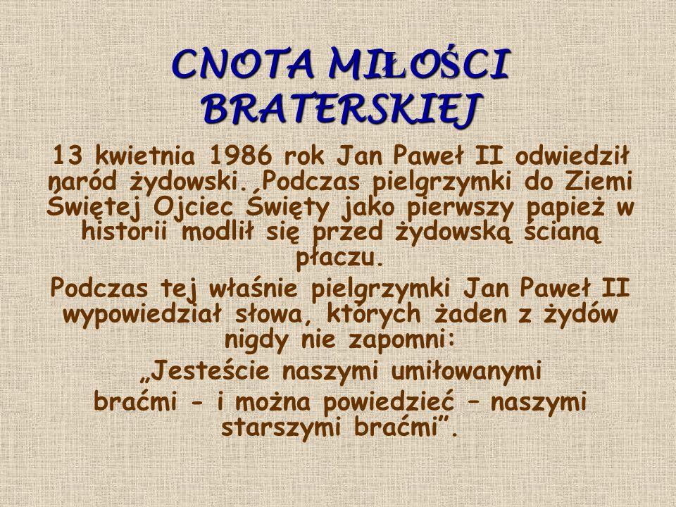 POZNAŃ 1997 Podczas mszy świętej odprawianej nieopodal poznańskich krzyży mówił: Znałem młodzież polską i nie zawiodłem się na niej.