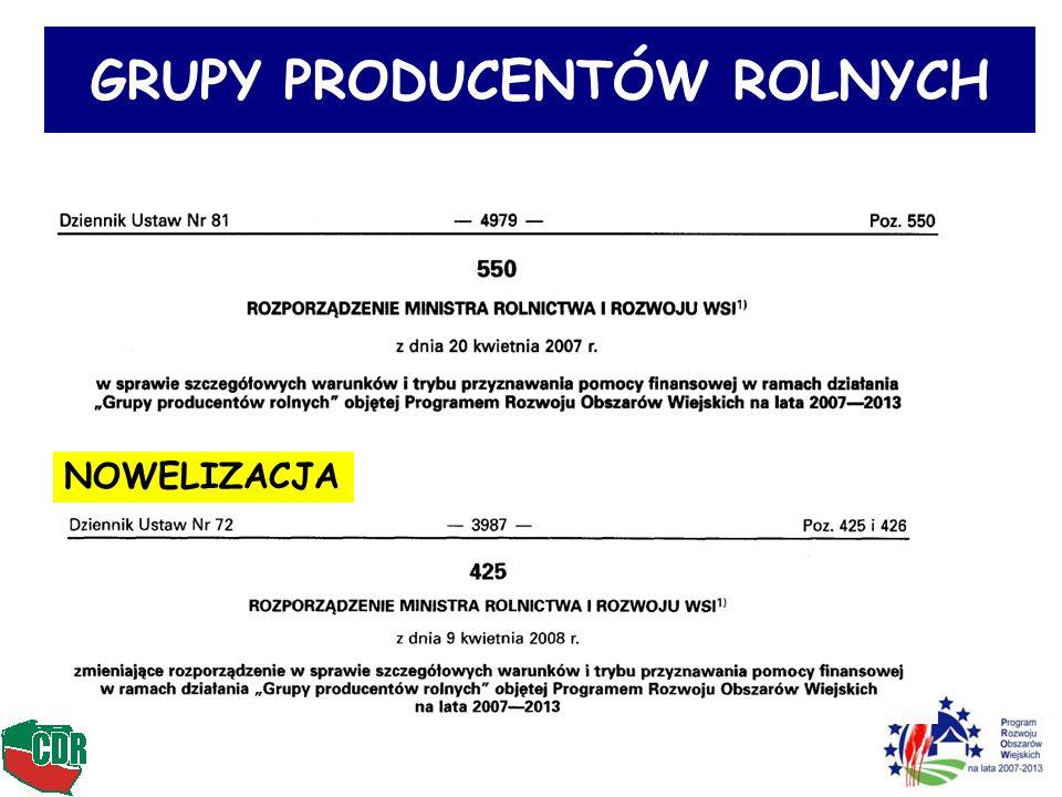 14 Decyzja o wpisaniu do rejestru GPR Marszałek WOJEW.